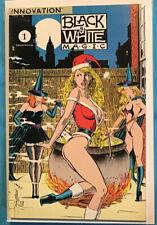 Black & White Magic 1 Innovation Publishing One Shot 1991 Sexy Cover