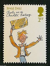 """""""Charlie and the Chocolate Factory"""" (Roald Dahl) on 2012 Stamp - U/M"""
