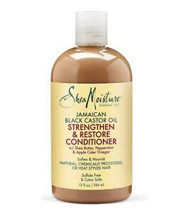 Shea Moisture Jamaican Black Castor Oil Strengthen Grow & Restore Conditioner 13