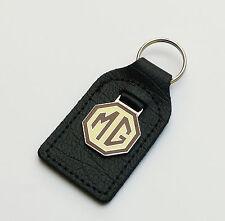 MG Enamel & Chrome Key Fob, for Midget, MGA, MGC, MGB GT, Midget, MGF, MGTF etc