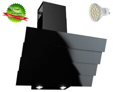 HAAG Cooker Hood Bravo Quadro 50cm! Black Glass LED! EU Class B! BEST PRICE EVER