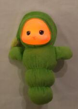 Musical Lullaby Gloworm Glow Worm Plush Light Up Playskool Green Hasbro