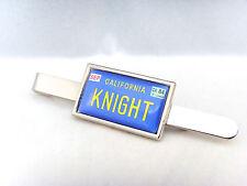 Knight Rider Kitt Auto número Placa Insignia De Pasador tie agarre Bar De Regalo