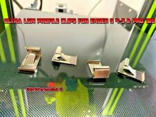 Ultra Low Profile 3D Printer Glass Bed Clips x4 Ender 3 4-5 & Pro CR-10, 10S, S5