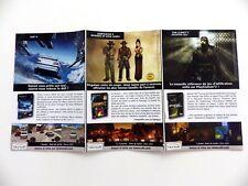 PLAYSTATION 2 Flieger Ubisoft 2002/2003 Recto Verso Original 33 X 18 CM