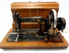 Antigua y preciosa maquina de coser R&R de FLORES año 1899 no singer