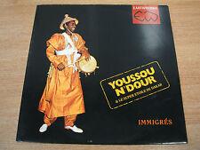 youssou n'dour & le super etoile de dakar immigre's  uk earthworks vinyl lp