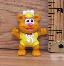 """Vintage HA! (M6) 1986 Muppet's """"Fozzy Baby Bear"""" PVC Figure / Toy Only **READ**"""
