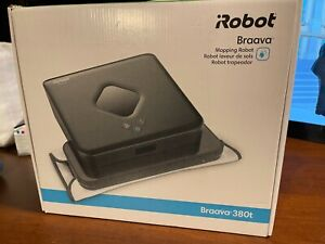 iRobot Braava 380t Advanced Robot Mop - Wet Mopping and Dry Sweeping cleaning