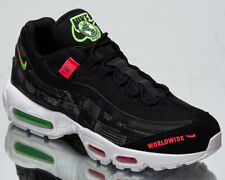 Nike Air Max 95 Worldwide Men's Black White Green Pink Lifestyle Sneakers Shoes