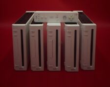 Nintendo Wii Console Lot5/1controller - For Parts Or Repair_disc no red or stock
