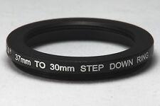 37-30mm Step down Ring - Black aluminium **UK Seller**