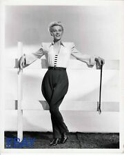 Ilona Massey w/ riding crop VINTAGE Photo Holiday in Mexico