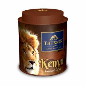 Thurson Kenya Lion Black Tea 100g (3.53 oz ) + metal tin