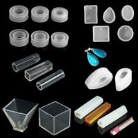 Geometry Design Silicone Molds DIY Pendant Resin Accessories Jewelry Making Tool