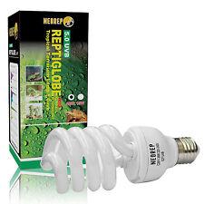Reptile Compact Fluorescent Vivarium Lamp Light 5.0 UVB UVA UV 26W ES Screw