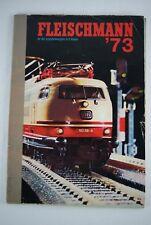 Fleischmann '73 1973 Spur HO + N Dutch catalog katalog catalogus 2