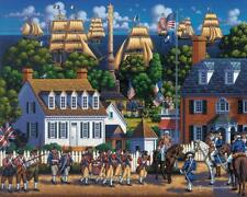 Dowdle Folk Art Collectors Puzzle Yorktown National Historic Park 500 Pcs #00361