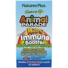 Animal Parade, niños Inmune de refuerzo 90 natural Tropical Berry, - Nature's Plus