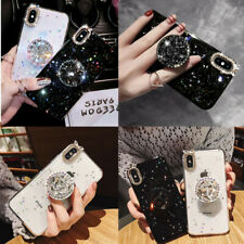 Glitter Sparkle Bling Phone Case Holder For iPhone 11 Pro X XR XS 6 6S 8 7 Plus