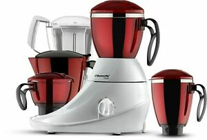 Butterfly Desire Mixer Grinder with 4 Jars Red & White Color Express Shipping