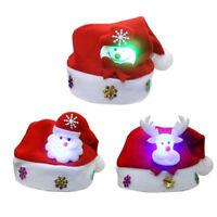 Lk _ Ne _ Eg _ Adultes Enfants Led Chapeau Noël Père Renne Bonhomme de Neige G