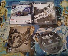 Sniper Elite V2 PlayStation 3 PS3 COMPLETE DISC CASE MANUAL