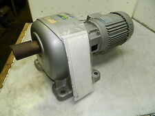NEW GTR / Nissei Induction Geared Motor, 1 HP, Ratio: 220V, 1:100, 17.3 Output
