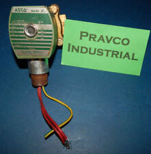 """ASCO Red-Hat 8210G94 Solenoid Valve 150PSI 1/2""""(.5"""")Pipe In and Out  10.1Watts"""