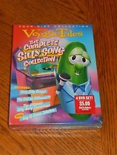 VeggieTales - The Complete Silly Songs Collection (DVD, 2005) NEW Factory Sealed