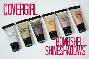 Covergirl Bombshell Shine Shadow Eye Shadow Brand New (Choose Your Shade)