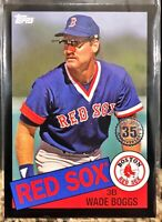2020 Topps Mini On Demand 85-19 1985 Wade Boggs Black /299