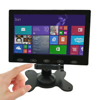 Portable 7 inch Monitor Screen Ultra-Thin1024*600 LCD CCTV Video Display Screen