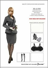 CC254 1/6 DOLLSFIGURE Female Secretary Suit Full Set for HOT TOYS,KUMIK,TTL