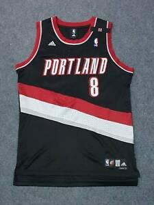 Commemorate NBA Portland Trail Blazers Webster Adidas Swingman Jersey Sz L