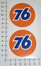 76 gasoline 2 unidades set Pegatina Sticker Hot Rods us cars casi & Loud v8 mi343