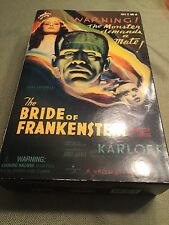"BRIDE of FRANKENSTEIN KARLOFF Universal Monsters 12"" action figure Sideshow NIP"