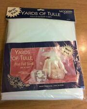 """White Tulle - Modern Romance - White Tulle  54"""" x 180 - 5 Full Yards"""