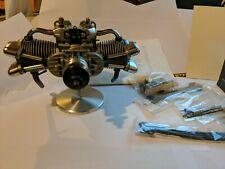 Saito FA - 90T Hemi 4-stroke 15cc Flat Twin Glow Engine MK 2 RC Brand New!!