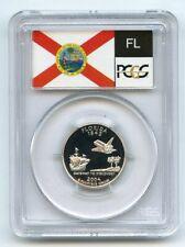 2004 S 25C Silver Florida Quarter PCGS PR70DCAM