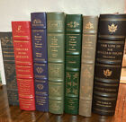 The+Classics+of+Medicine+Library+Lot+-+Lot+Of+7+Leather+Bound+Books+Churchill