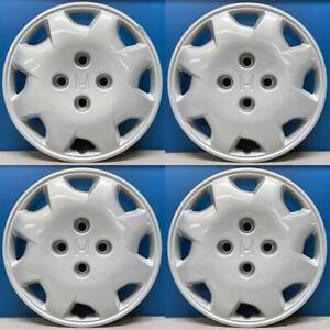 "1998-2002 Honda Accord LX # 55045 15"" Hubcaps / Wheel Covers # 44733S84A10 SET/4"