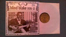"BLIND BLAKE 1926 - 32 volume 2 ........ ""SEARCH WARRANT BLUES"""