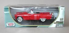 1:18 Motormax 1956 Ford Thunderbird Roadster - Red