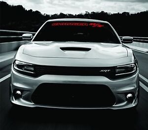 WINDSHIELD DECAL for Dodge Charger RT R/T 2011-2020 2019 2018 2017 2012 2013