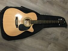 Rogue Cutaway Acoustic-Electric Guitar with Eq. Comes with some accessories