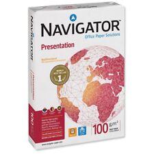 Navigator Presentation A4 Premium Paper,White, 100gsm Full Box (1 x 2500 Sheets)