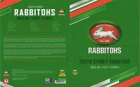 NRL SOUTH SYDNEY RABBITOHS STAMP PACK 2015 ISSAC LUKE COLLECTIBLE CARD PERFECT