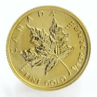 Canada 10 dollars Maple Leaf Bullion gold coin ¼ oz 2010