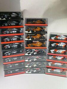 MINICHAMPS 1/43 Fórmula 1 Mclaren Racing Coche Menta Selección por favor, Elija